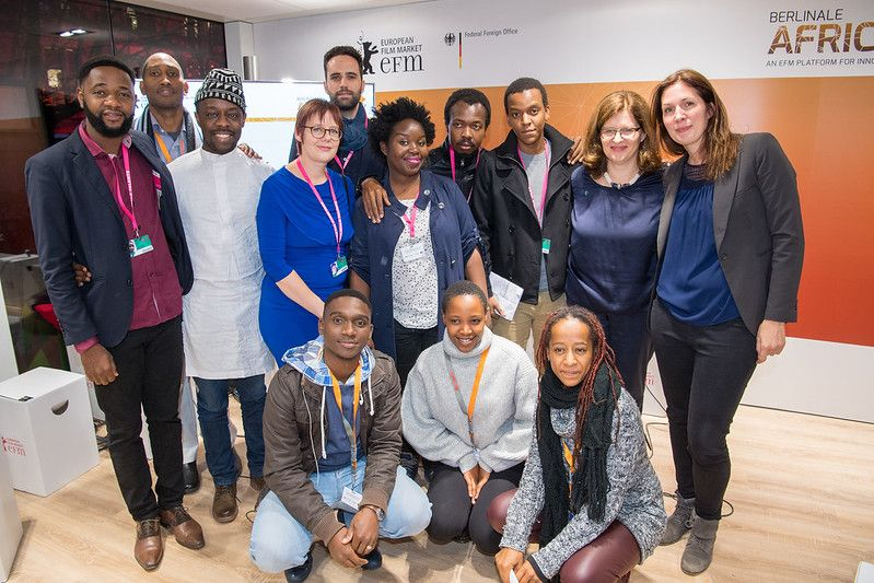 Talents at the Berlinale Africa Hub.