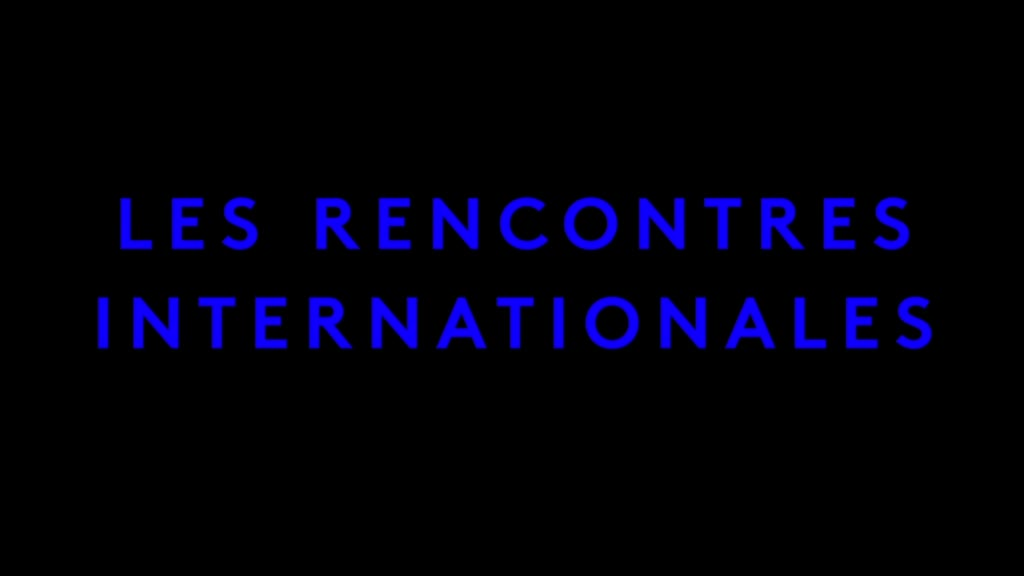 Rencontres internationales paris 2016